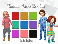 Sims 4 CC's - The Best: Toddlers Clothing by Lollaleeloo