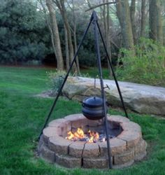 camping fire pits outdoor | Fall Fireside Outdoor Cooking | Bonfire | Fire Pit | Camp Fire | Rings