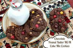 Chocolatepeanut butter mz&make mix cookies