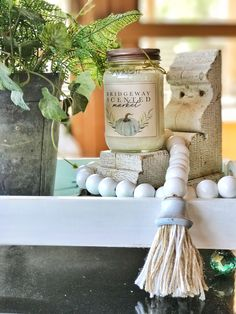 Farmhouse style wood bead garland with tassle Tassle Garland, Wood Bead Garland, Garlands, Tassels, Crafts To Do, Bead Crafts, Ornament Crafts, Christmas Ornament, Wood Block Crafts