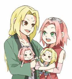 Sakura and Tsunade ♥♥♥  #Puppets #MasterAndStudent #Kunoichi #Hokage #Powerful #Bonds