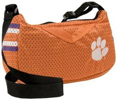 Clemson University Jersey Purse by Little Earth. Save 6 Off!. $22.66. NCAA Clemson University Jersey Purse