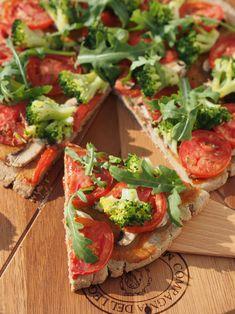 pizza gryczana, bez drożdży, bezglutenowa, wegańska