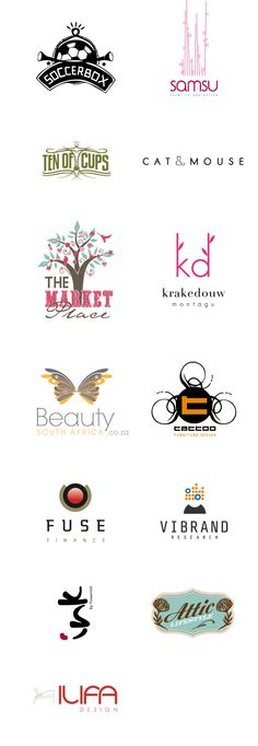 Various #logos done by us    www.elevenct.co.za