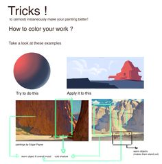 Art Tips and Tricks – Art – Art is my life. Digital Art Tutorial, Digital Painting Tutorials, Art Tutorials, Digital Paintings, Drawing Tutorials, Claude Monet, Art Sketches, Art Drawings, Drawing Faces