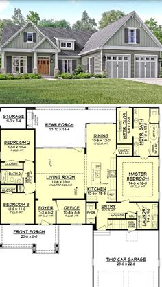 This is the basic I like .. master separated from other bedrooms, laundry close to master, I nice size pantry, other bedrooms can be closed off to save on heating when not in use,  walk-in closet, separate tub and shower, closed in toilet, two sinks, kitchen open to living room and storage.