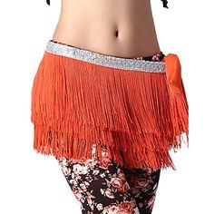 Dancewear Spandex Belly Belt Dança para Senhoras (mais cores) – BRL R$ 48,13