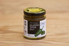 Jalapeno Jelly von Harty's Pepper Jelly Company: 100% natürliche Zutaten, vegetarisch, glutenfrei, keine Zugabe von Salz, keine künstlichen Aroma- und Farbstoffe