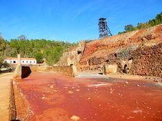 Te contamos cómo es la visita a las Minas de Riotinto #conniños #Andalucía #Huelva. Qué ver, cuánto cuesta la entrada #precios #consejos #dudas y #parquesinfantiles