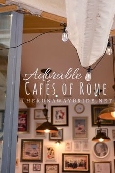 Rome Italy Cafe Euro
