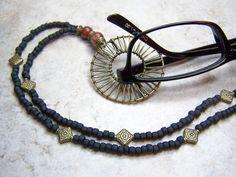 Lanyard Eyeglass Holder,  Eyeglass Necklace, Eyeglass Chain By Eyewearglamour