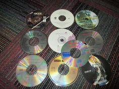 LOT OF 10 GREEK MUSIC CD'S, NICOS COSMOS,MAPIOY TOKA,ANNA, GREEK BOUZOUKIS +