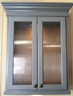 Kitchen Cabinet Door Design saw rain glass cupboards at menards and loved them | kitchen