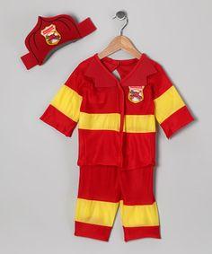 What little boy wouldn't love a fireman costume?