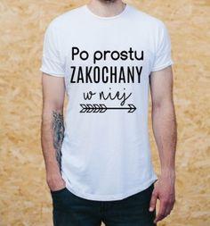 """Koszulka męska """"PO PROSTU ZAKOCHANY W NIEJ"""""""