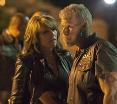 Sons of Anarchy - Clay and Gemma.