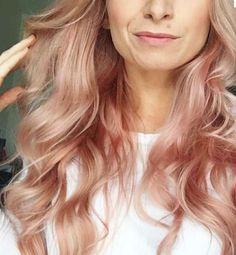 Tendencias en tintes de pelo 2016: Ombre hair rosa pastel - Para todas las edades