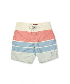 Fourth of July Outfit Ideas for Him: Striped trunk, $59, KATIN, stagaustin.com.
