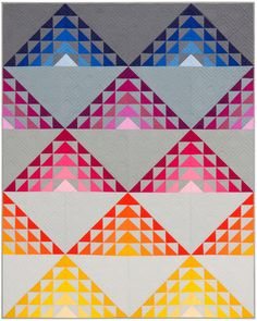 At Dusk Quilt--it has a glowing effect to it!