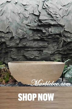 Top 30 natural stone bathtub design