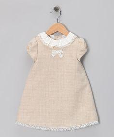 Fina Ejerique Beige Tweed Dress