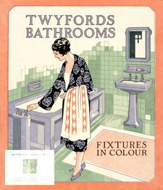 1930's bathroom - so much like our new one