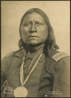 Kiowa Chief Satanta (White Bear) Will Soule, Fort Sill, Indian Territory c. 1870