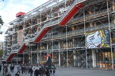 Centre Georges Pompidou, Paris.