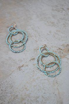 Hampton Earrings - Mint