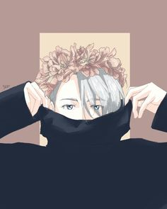 Victor Nikiforov/ Viktor flower crown