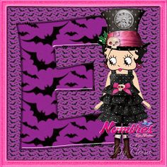 "Nombres "" Eloisa "": ABC Halloween Betty Boop 1"