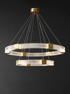 Parallel Ring LED Chandelier – mooielight