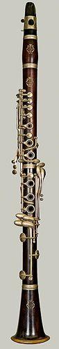 McIntyre system clarinet. 1962