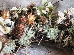 wreath details #hollybeeflowers