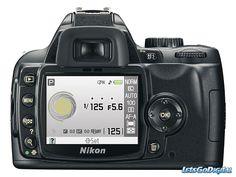 Nikon D60 camera settings