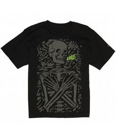 GNU Mr. Bones T-Shirt ~ The House $24.95