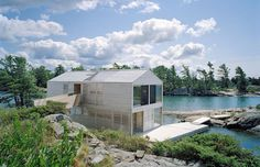 This week, Remodelista gave us plenty to daydream about, first with the floating house in the image above, designed by MOS Design located on an island in Lake Huron, Ontario.