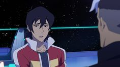 Keith feeling guilty for not telling  Shiro anything from Voltron Legendary Defender