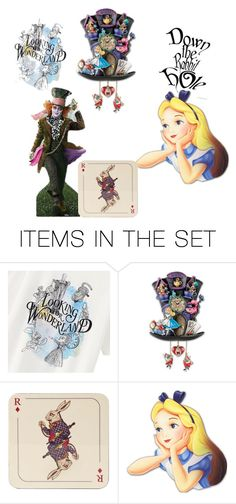 Alice and mad hatter by jaidynokafor on Polyvore featuring art and couplescostumes
