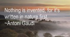 Image result for gaudi nature quotes