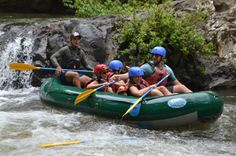 Happy after going through some Tenorio River rapids Guanacaste, Costa Rica #rafting #fun #cool