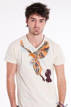 Freedom T-shirt for Men. Modelled by Matt Adams.