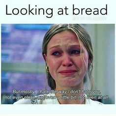 Looking at Bread - Diet and Fitness Humor, Diet Memes, Fit, Health, Healthy, Weight Loss, Fat, Fat Loss, Active, Nutrition, Sweat, Flex, Cardio, Training, Beachbody, Fitspo, Fit Fam, Fit Girl, Fit Mom, Women's Health, Running, Jogging, Carbs, Carbohydrates, Protein, Los Angeles, Miami, New York, Atlanta, Washington DC (healthy weight)