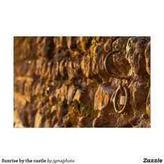 Póster Sunrise by the castle Posters Wall, Lake Garda, Sunrise, Sunrises