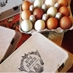 It makes us so happy to see our designs come to life on the finished product. Thanks for the lovely snapshot @azsheepherder1! We had such a great time working with you to design your logo stamp.  #handdrawn #customlogo #customstamp #eggcartonstamp #eggstamp #fresheggs #icelandicsheep  #alpaca #authenticheirlooms #etsyshop #etsy #etsyseller #homesteadmaker