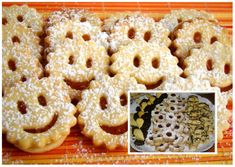 Vianocne pecivo aj s mastou Onion Rings, 4 Ingredients, Christmas Cookies, Doughnut, Holiday Recipes, Food And Drink, Breakfast, Ethnic Recipes, Desserts