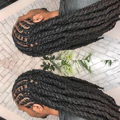 oc Speciality Salon on Instagra Mens Dreadlock Styles, Dreadlock Hairstyles For Men, Dreads Styles, Black Men Hairstyles, Braided Hairstyles, Locks Hairstyle, Guy Hairstyles, Braided Updo, Protective Hairstyles