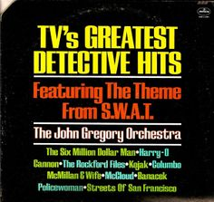 The John Gregory Orchestra - TV's Greatest Detective Hits (1976)