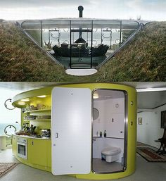 underground homes - Bing Images