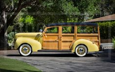 1939 Ford V-8 Model 91A Deluxe Station Wagon | Gooding & Company